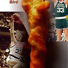 Cheeto Larry Bird by Cheeto Freak