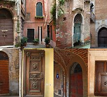The doors of Italy by Ian Fegent