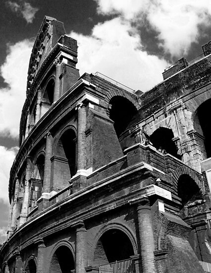 Colosseum Remains by Kent Nickell