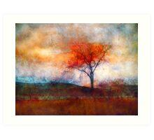 Alone in Colour Art Print