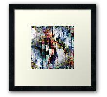 P1390324 _P1390424 _ElectricSheep _GIMP Framed Print