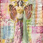 Belly Dancer- mixed media collage by CollageMyLife