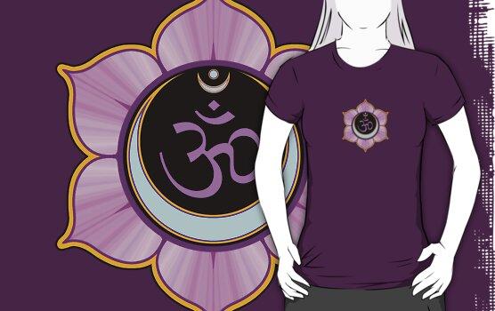 Lotus Mandala Om Shirt by shantitees