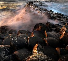 The Giants Causeway by Dave Hudspeth
