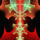 Scarlet and Silver Spine  (UF0167) by barrowda