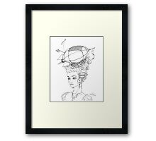 The Very Latest in Fashion Framed Print