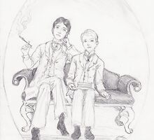 Oscar and Bosie by Krystal Frazee