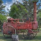 Steam Tractor, Nymboida, NSW, Australia by Adrian Paul