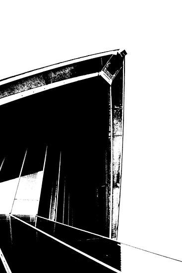 opera sail black and white by judewatson