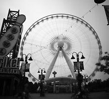 The Falls Ferris Wheel by Syx Langemann