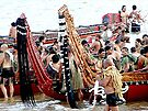 Gathering of the Waka's! (canoes) by Roy  Massicks