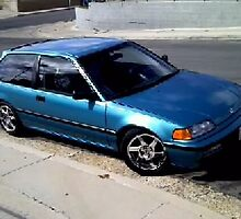 91 Honda Civic DX Hatchback by Marco Anderson