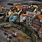 Staithes from Cowbar by Phillip Dove