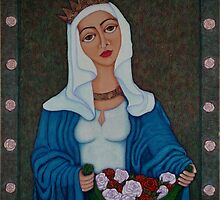 Queen Saint Isabel - The miracle of roses by Madalena Lobao-Tello