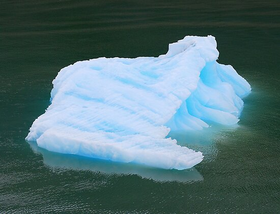 Blue Ice Block by Neville Gafen