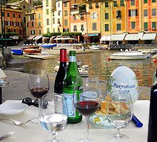 Lunch in Portofino by Neville Gafen
