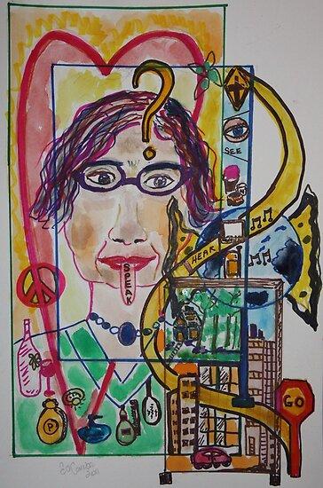 21ST CENTURY WESTERN WOMAN by eoconnor