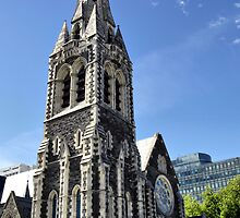 Christchurch Cathedral, Christchurch NZ by Dave Morrison