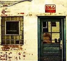 an old facade by Lynne Prestebak
