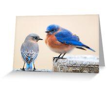 Cute Couple Greeting Card