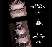 Wedding Cakes by AnnDixon