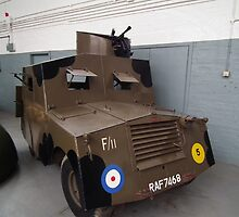 Standard Beaverette MK III Armoured Car by mike  jordan.