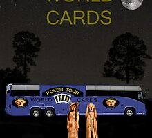 Poker World Cards Tour by Eric Kempson