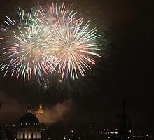 Fireworks by annalisa bianchetti