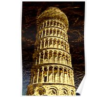 Leaning Tower of Pisa, Tuscany Poster