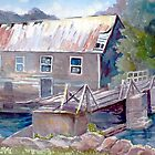 Old Lumber Mill, Ontario by Saga Sabin