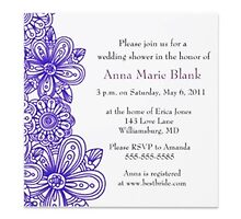 Wedding shower invitations by krtdesign