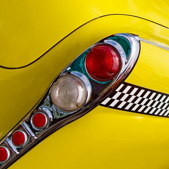 Checkered Cab Squared by Rebecca Cozart
