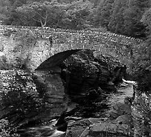 Stone Bridge in Scotland by Ivan Prosper