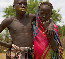 YOUNG MURSI BOYS by Nicholas Perry