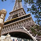 Eiffel Tower in Las Vegas by Karen Waples