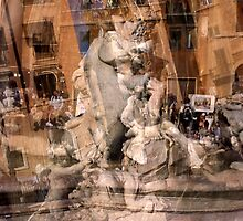 Piazza Navona 1 by Angela Bruno
