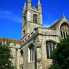 St Mary's Church, Ashford, Kent 2 by Liz Garnett