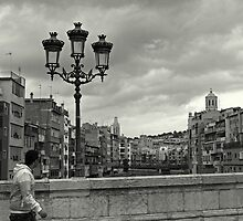 Girona bridges by Esther  Moliné