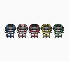 Chibi-Fi Bioman Kids Clothes