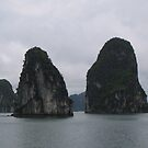 Halong Bay Peaks by machka