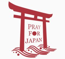 PRAY FOR JAPAN - Torii by Mariko Suzuki