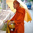 Monks in Cambodia 2 by Travel-Hop