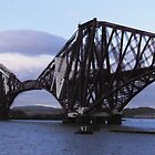 Forth Rail Bridge by Dawn (Paris) Gillies