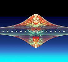 Scarlet UFO  (UF0175) by barrowda