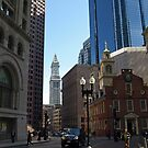 Down Town Boston. by Lee d'Entremont