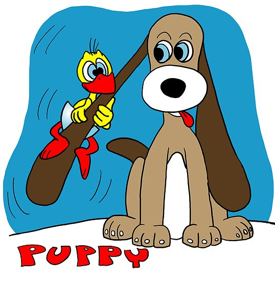 Rick the chick & Friends - Puppy by CLAUDIO COSTA