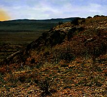 High Desert Sundown by RC deWinter