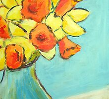 March daffodils by Sharon Williamson
