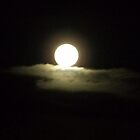 Sitting On A Cloud - 'Super Moon' by dawnandchris