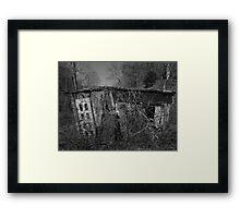 House of Silence Framed Print